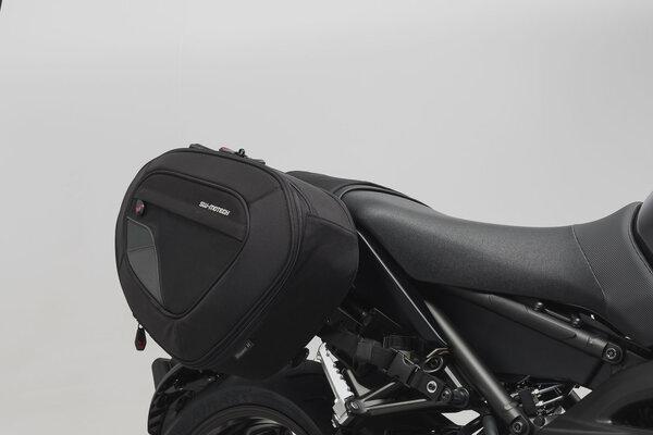 BLAZE H saddlebag set Black/Grey. Yamaha MT-09 (16-).