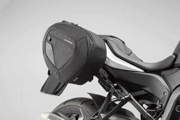 Set borse portaccessori BLAZE H Nero/Grigio. BMW S 1000 XR (15-).