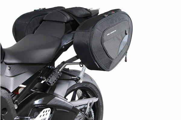 Set borse portaccessori BLAZE H Nero/Grigio. BMW S 1000 RR (15-).