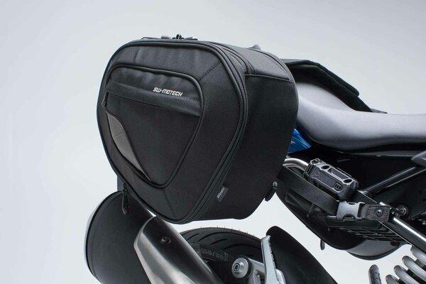 Set borse portaccessori BLAZE H Nero/Grigio. BMW G 310 R (16-).