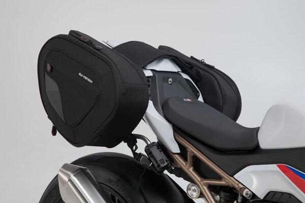 Set borse portaccessori BLAZE H Nero/Grigio. BMW S 1000 RR (19-).