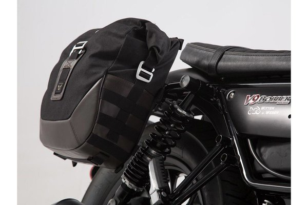 Legend Gear Seitentaschen-System LC Moto Guzzi V9 Roamer/Bobber (16-).
