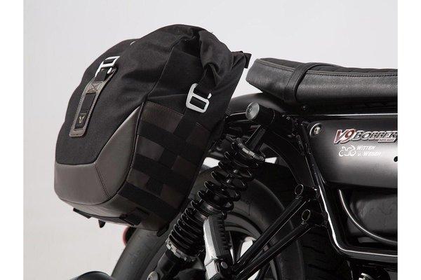 Legend Gear Seitentaschen-Set Moto Guzzi V9 Roamer/Bobber (16-).