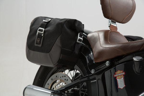 Legend Gear Seitentaschen-Set Harley Davidson Softail Slim/S, Softail Blackline.
