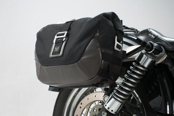 Legend Gear Seitentaschen-System LC Dyna Street Bob (06-08), Low Rider (06-09).