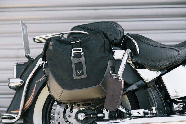 Legend Gear Seitentaschen-System Harley Davidson Softail Fat Boy, Breakout.
