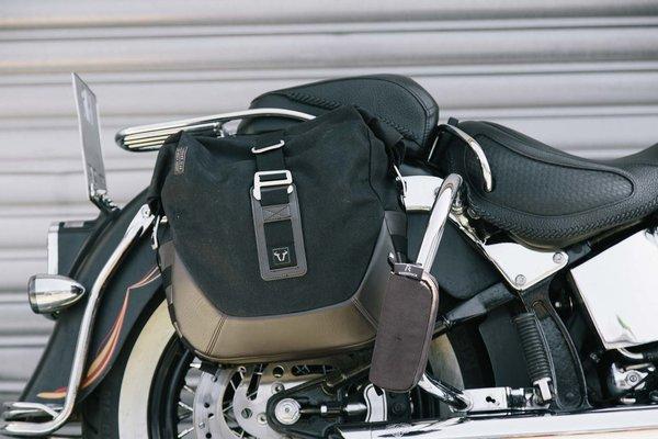 Legend Gear Seitentaschen-Set Harley Davidson Softail Deluxe, Heritage Classic.
