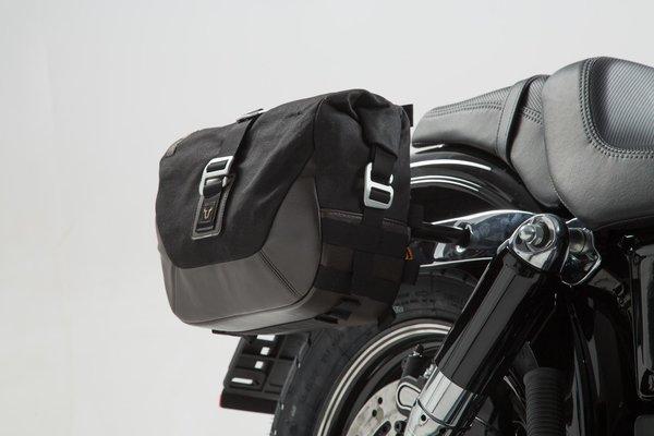 Legend Gear Seitentaschen-Set Harley Davidson Dyna Fat Bob (08-17).