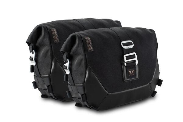 Legend Gear Seitentaschen-System LC Black Edition BMW R nineT (14-), Pure / Urban G/S (16-).