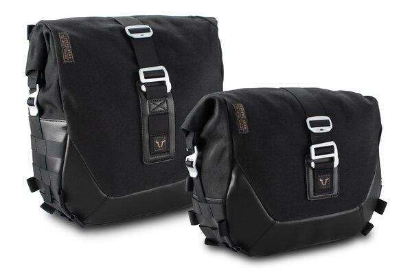 Legend Gear Seitentaschen-System LC Black Edition Suzuki SV650 (15-).