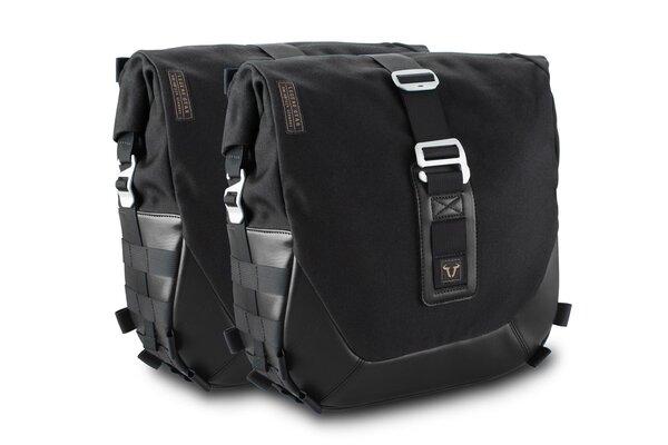 Legend Gear Seitentaschen-System LC Black Edition Triumph Bonneville T100 (16-) / T120 (15-).