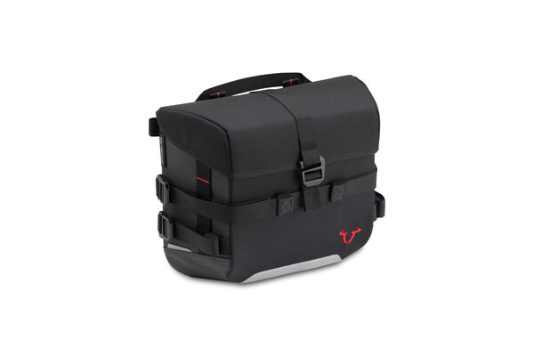 Sacoche SysBag 10 10 l. Noir/Antracite. Sangles darrimage incluse.