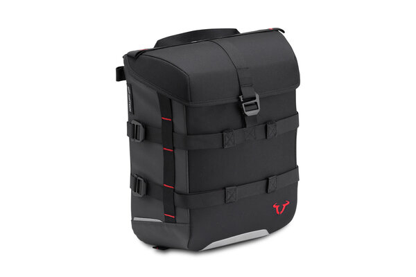 SysBag 15 15 l. Black/Anthracite. Incl. straps.