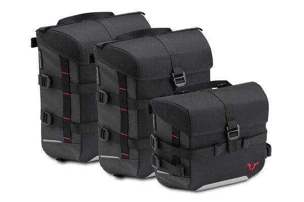 Set borse SysBag 10/15/15 Nero/Antracite. Inc. cinghia di ancoraggio.