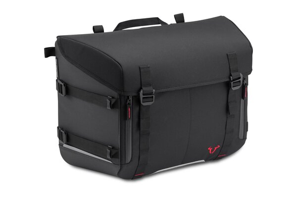 Sacoche SysBag 30 30 l. Noir/Antracite. Sangles darrimage incluse.