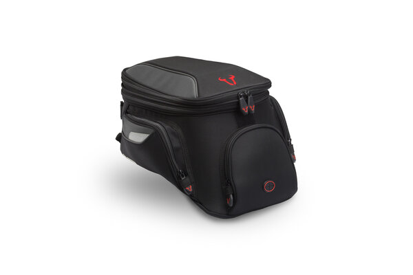 EVO City tank bag 11-15 l. For EVO tank ring. Black/Grey.