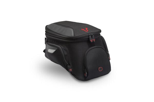 EVO City tank bag 11-15 l. For EVO tank ring. Black/Grey.