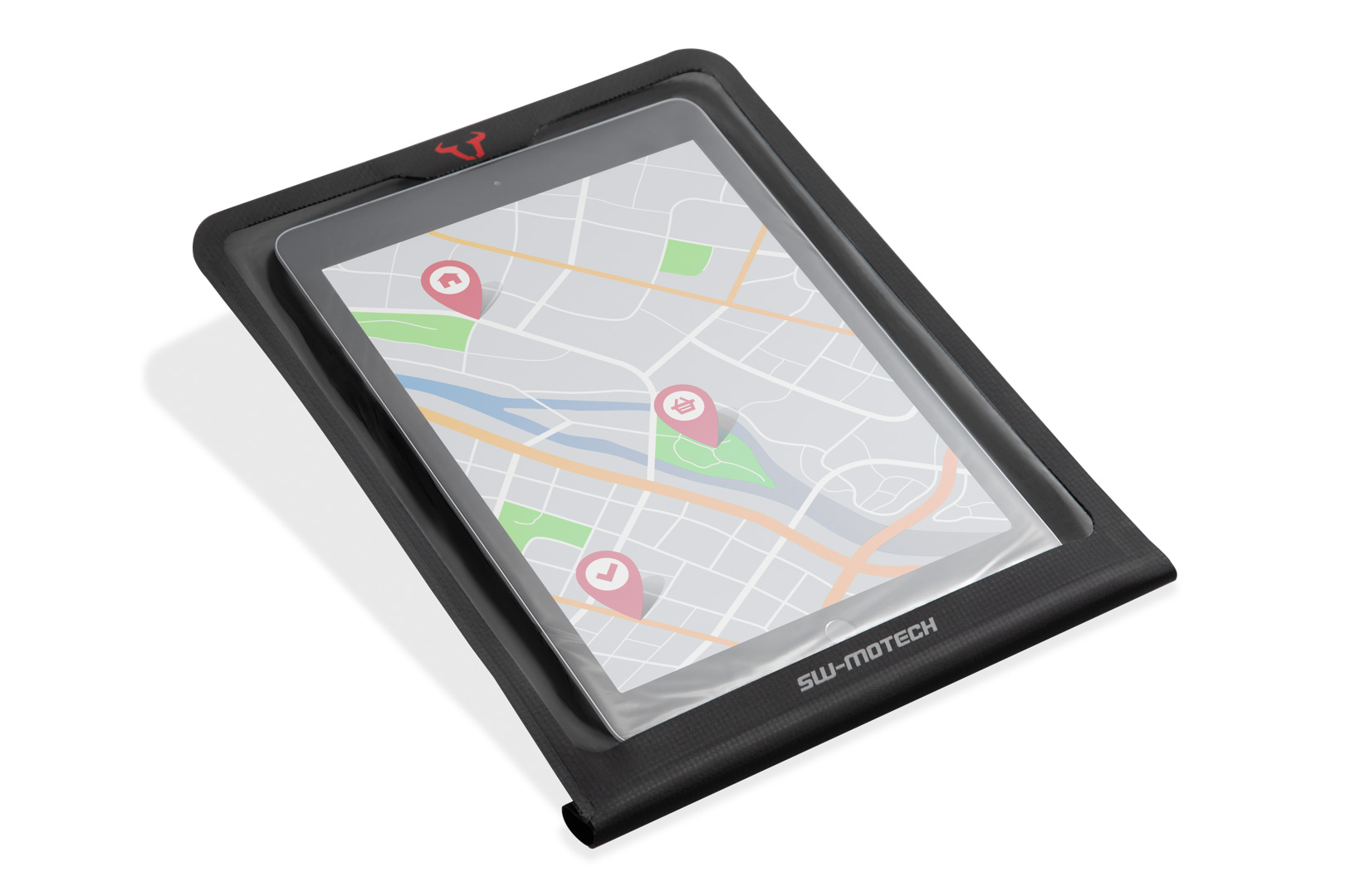 Smartphone Drybag für MOLLE-Aufsatz Schwarz.