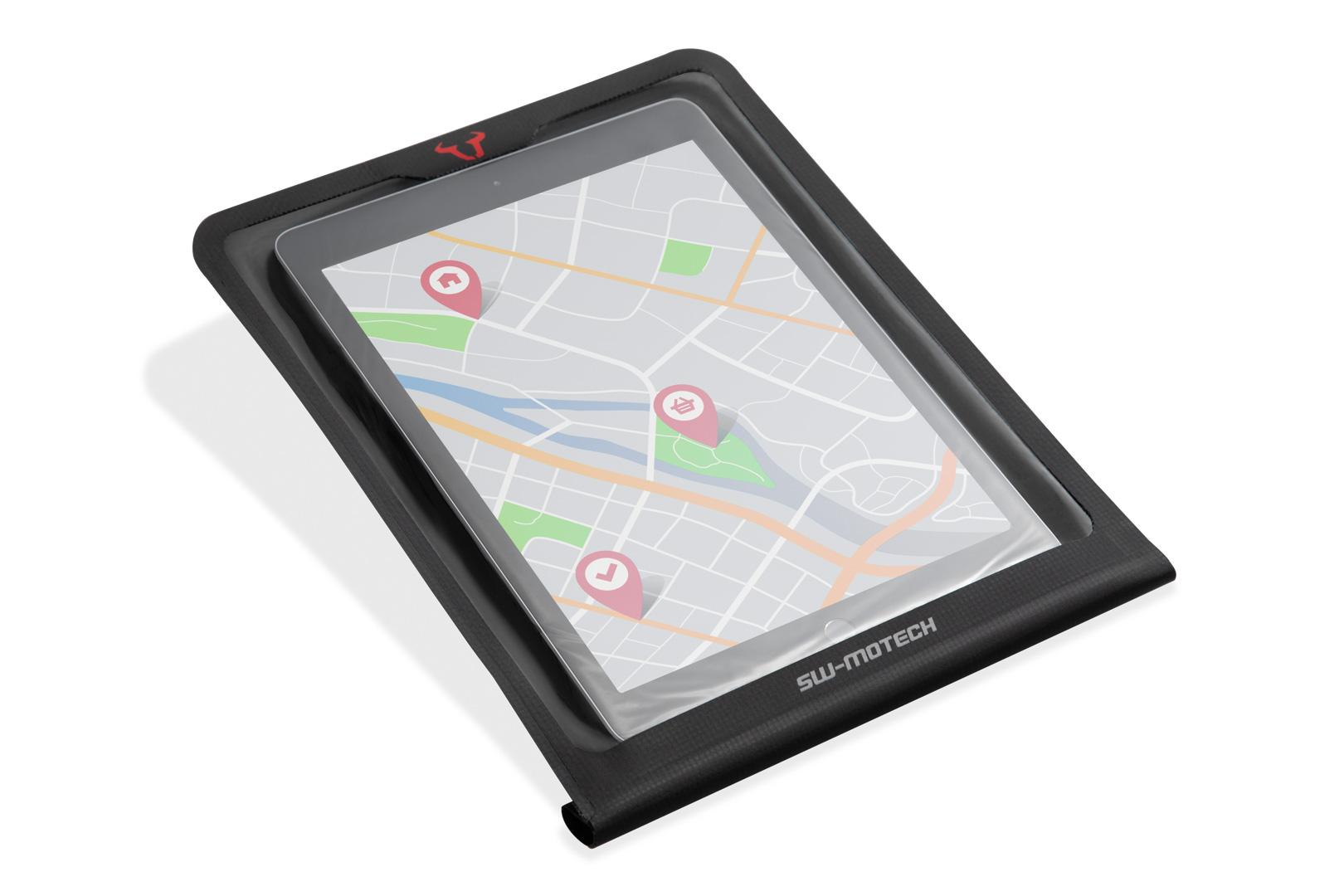 Smartphone-Drybag für MOLLE-Aufsatz Schwarz.