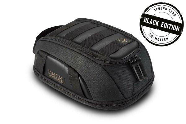 Legend Gear Tankrucksack LT1 - Black Edition 3,0 l - 5,5 l. Magnet-Halterung. Wasserabweisend.