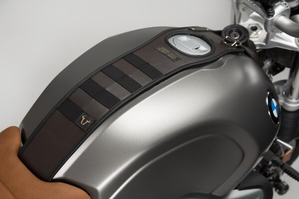 Juego de correa para depósito Legend Gear BMW R nineT-Modelle (14-). Con bolsa adicion. LA2.