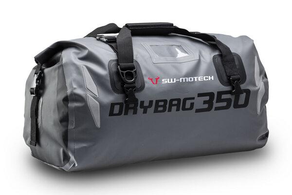 Bolsa trasera Drybag 350 35 l. Impermeable. Gris/Negro.