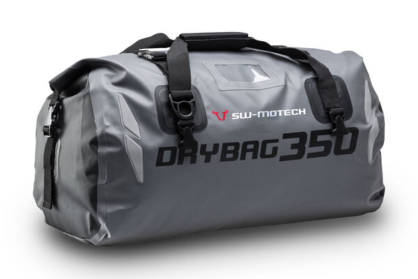 Drybag 350 tail bag 35 l. Grey/black. Waterproof.