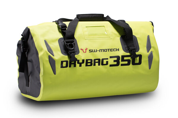 Bolsa trasera Drybag 350 Lona. Impermeable. Amarillo neón. 35L.
