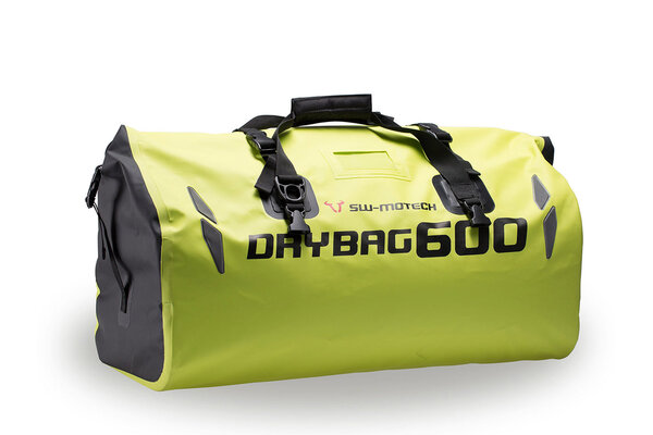 Drybag 600 tail bag 60 l. Signal yellow. Waterproof.