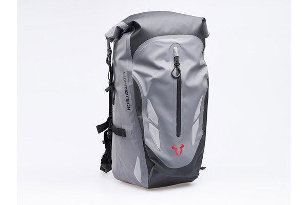Baracuda backpack 25 l. Grey/black. Waterproof.