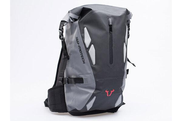 Triton backpack 20 l. Grey/Black. Waterproof.