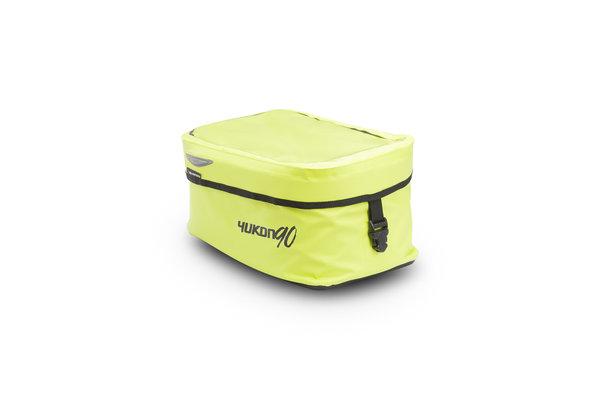 Yukon 90 tank bag 9 l. For EVO tank ring. Signal yellow. Waterproof.