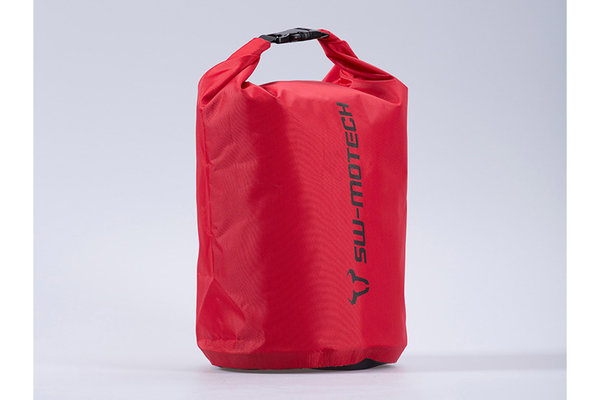 Drypack Packsack 8 l. Rot. Wasserdicht.
