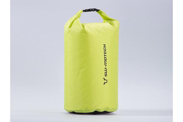 Sacca da sella Drypack 20 l. Giallo. Impermeabile.