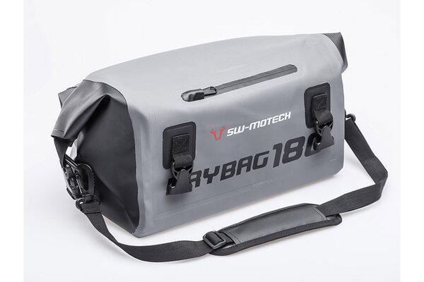 Drybag 180 tail bag 18 l. Grey/black. Waterproof.