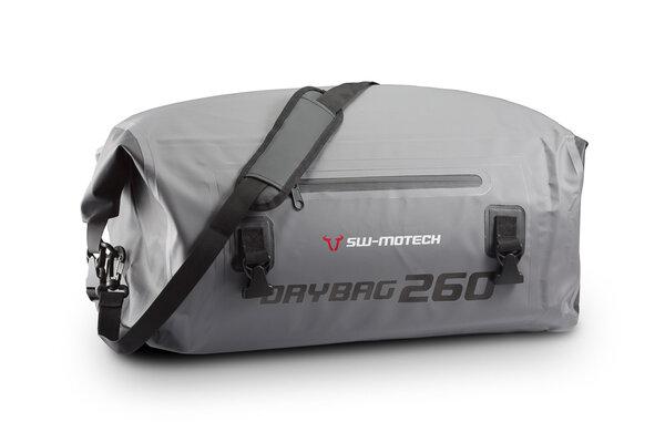Sacoche de selle Drybag 260 26 l. Gris/Noir. Étanche.
