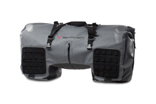 Drybag 700 tail bag 70 l. Grey/Black. Waterproof.