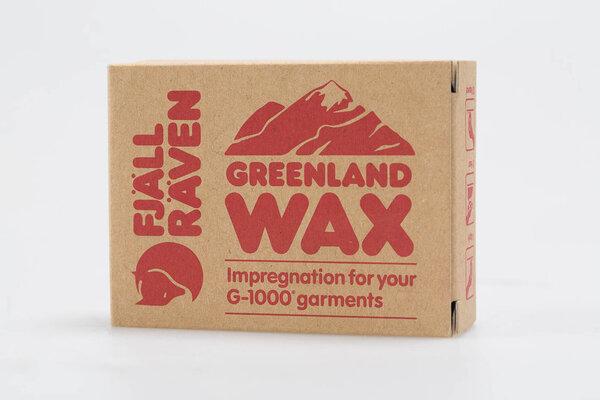Grönland Wachs Imprägnierung aus Bienenwachs und Paraffin.