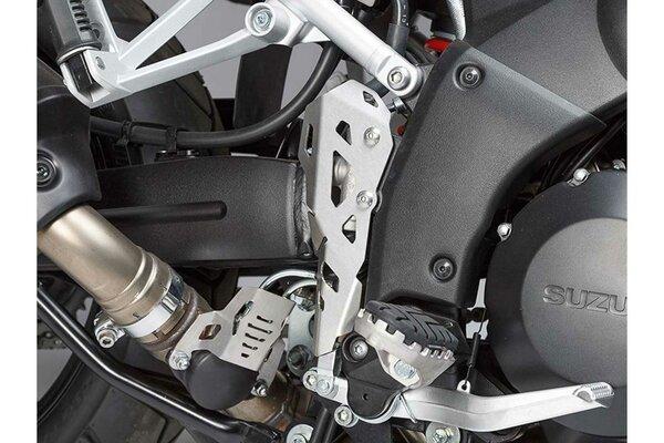 Brake cylinder guard Silver. Suzuki V-Strom 1000 (14-19).