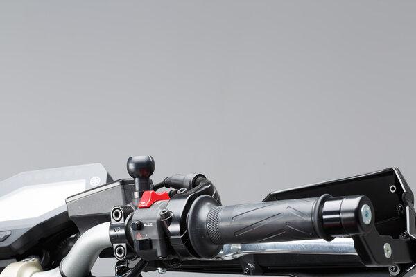 """1"""" Kugel für M10-Spiegelgewinde Für M10 x 1,25 mm Gewinde. Für RAM Arm. Schwarz."""