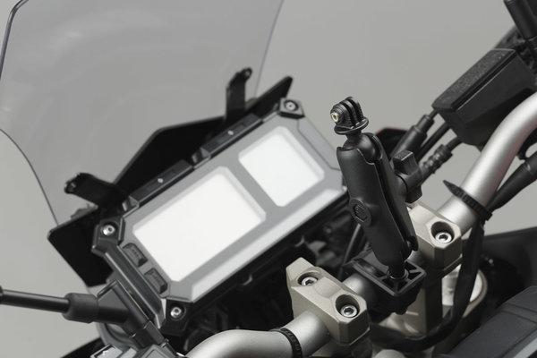 """Universal GoPro Kamera-Kit Inkl. 1"""" Kugel, RAM Arm, GoPro-Aufnahme."""