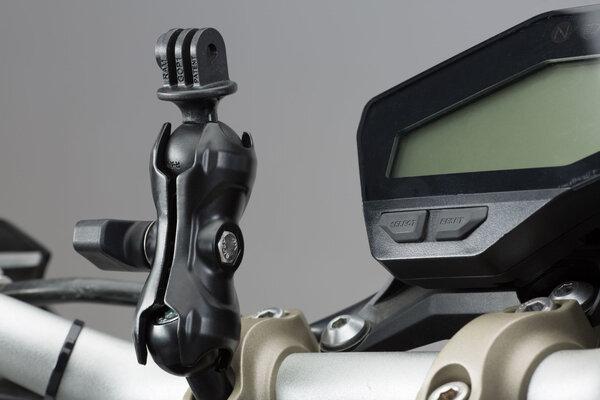 """Kit universel avec adaptateur pour GoPro Incl. boule 1"""" , bras de fixation, logement GoPro"""