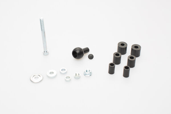 """Ball clamp for head tube For Ø 12.5-25 mm. Incl. 1"""" ball."""