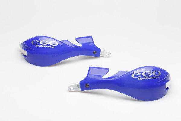 protège-mains mini EGO avec arceau Bleu. kit de fixation pour 22 mm guidon incl.