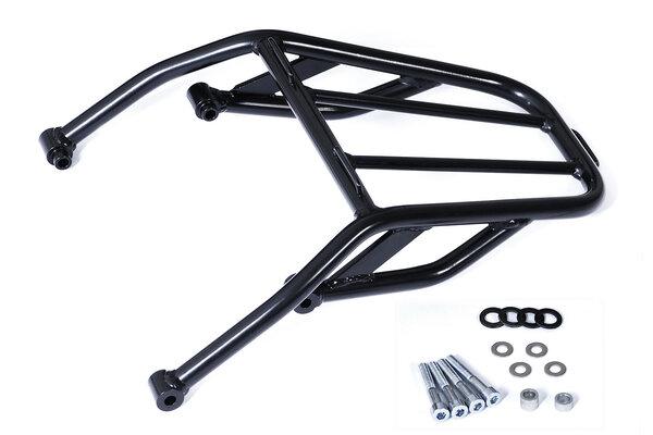 Top rack Tubular steel. Black. Yamaha XT 600 (90-03).