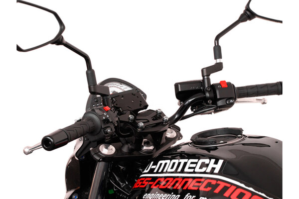 Kit adaptador Zumo Negro. Soporte GPS antisacudid Nonshock/QUICK-LOCK