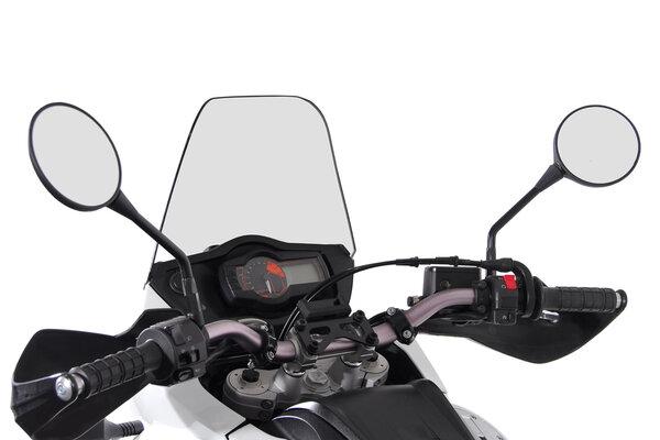 Navi-Halter am Lenker Schwarz. Beta- / BMW- / KTM-Modelle.