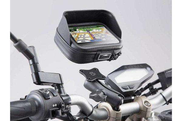 "Kit Navi Case Pro L avec support universel Incl. boule 1"", bras RAM, platine GPS, Navi Case L"