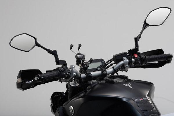 """Kit universel X-grip pour grands smartphones Incl. boule 1"""", bras de serrage, support X-GripIV."""