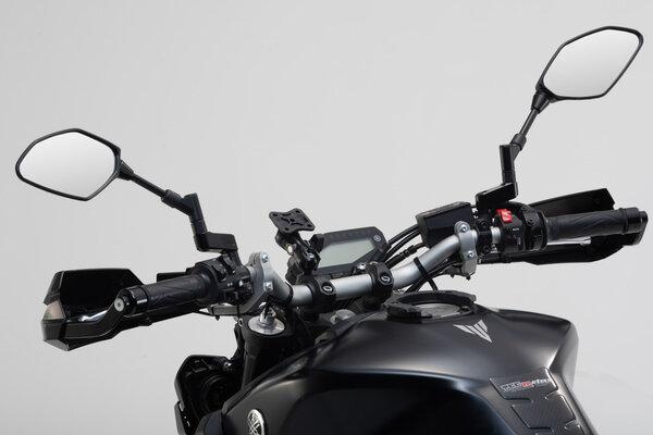 "Universal GPS mount kit with navi case Pro L Incl. 1"" ball, socket arm, navi mount, navi case."